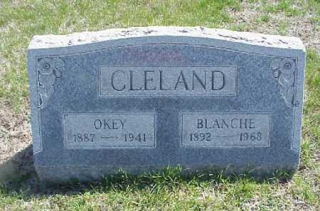 CLELAND, BLANCHE W. - Meigs County, Ohio | BLANCHE W. CLELAND - Ohio Gravestone Photos