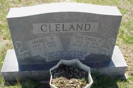 CLELAND, REV. THOMAS A. - Meigs County, Ohio | REV. THOMAS A. CLELAND - Ohio Gravestone Photos