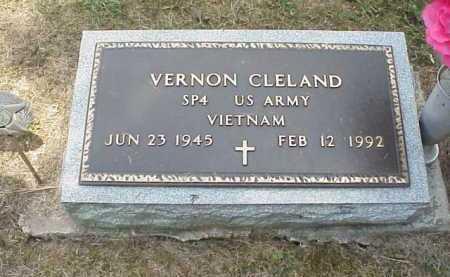CLELAND, VERNON - Meigs County, Ohio | VERNON CLELAND - Ohio Gravestone Photos