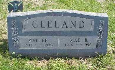 HOWELL CLELAND, MAE BELLE - Meigs County, Ohio | MAE BELLE HOWELL CLELAND - Ohio Gravestone Photos