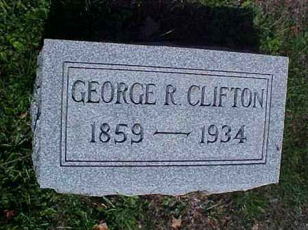 CLIFTON, GEORGE R. - Meigs County, Ohio | GEORGE R. CLIFTON - Ohio Gravestone Photos