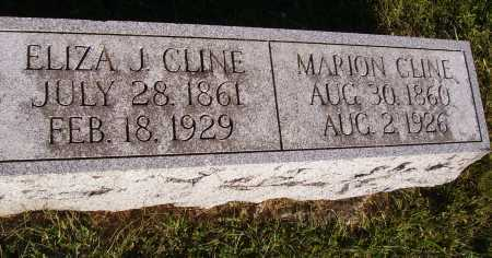 GREGORY CLINE, ELIZA J. - Meigs County, Ohio | ELIZA J. GREGORY CLINE - Ohio Gravestone Photos