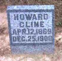 CLINE, HOWARD - Meigs County, Ohio | HOWARD CLINE - Ohio Gravestone Photos