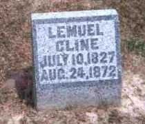 CLINE, LEMUEL - Meigs County, Ohio | LEMUEL CLINE - Ohio Gravestone Photos