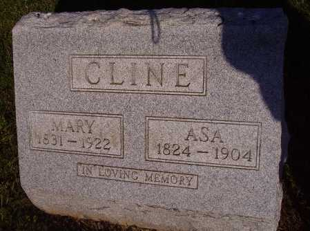 CLINE, ASA - Meigs County, Ohio | ASA CLINE - Ohio Gravestone Photos
