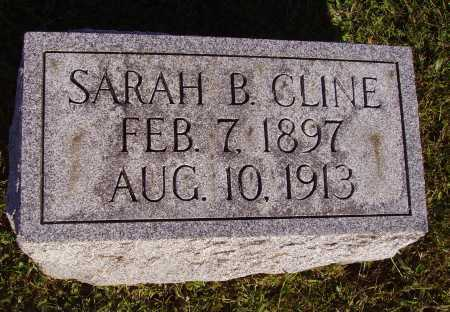 CLINE, SARAH B. - Meigs County, Ohio | SARAH B. CLINE - Ohio Gravestone Photos