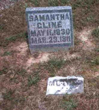 CLINE, SAMANTHA - Meigs County, Ohio | SAMANTHA CLINE - Ohio Gravestone Photos