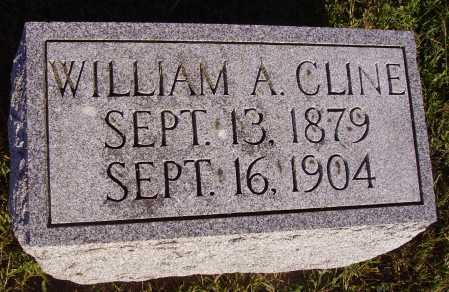 CLINE, WILLIAM - Meigs County, Ohio | WILLIAM CLINE - Ohio Gravestone Photos