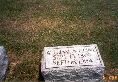 CLINE, WILLIAM A. - Meigs County, Ohio | WILLIAM A. CLINE - Ohio Gravestone Photos