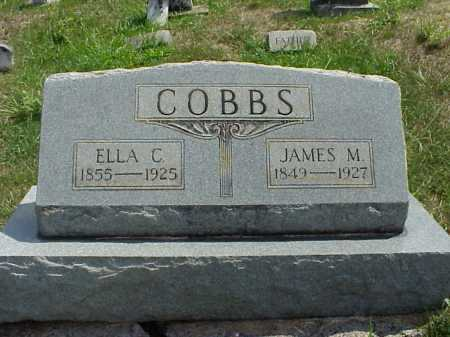 COBB, JAMES M. - Meigs County, Ohio | JAMES M. COBB - Ohio Gravestone Photos