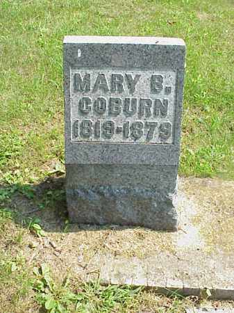 COBURN, MARY B. - Meigs County, Ohio | MARY B. COBURN - Ohio Gravestone Photos