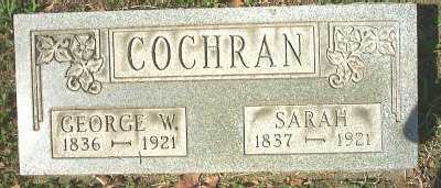 COCHRAN, SARAH - Meigs County, Ohio | SARAH COCHRAN - Ohio Gravestone Photos