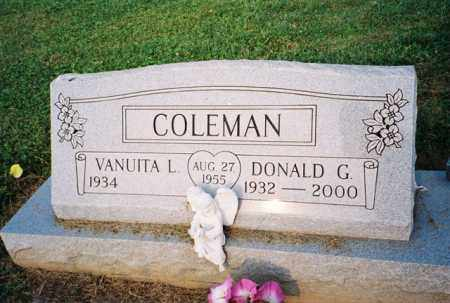 COLEMAN, DONALD - Meigs County, Ohio | DONALD COLEMAN - Ohio Gravestone Photos