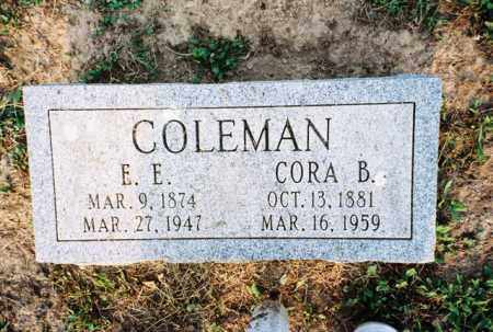 COLEMAN, E. - Meigs County, Ohio | E. COLEMAN - Ohio Gravestone Photos
