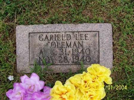 COLEMAN, GARIELD - Meigs County, Ohio | GARIELD COLEMAN - Ohio Gravestone Photos
