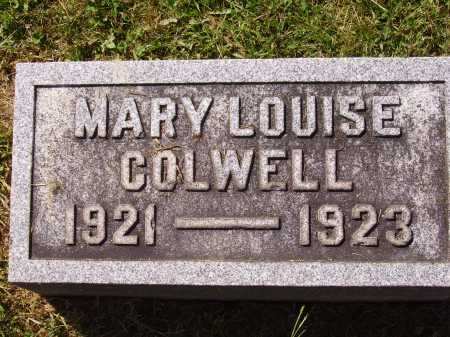 COLWELL, MARY LOUISE - Meigs County, Ohio | MARY LOUISE COLWELL - Ohio Gravestone Photos
