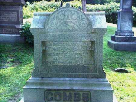 GOTSCHALL COMBS, MARY E. - Meigs County, Ohio | MARY E. GOTSCHALL COMBS - Ohio Gravestone Photos