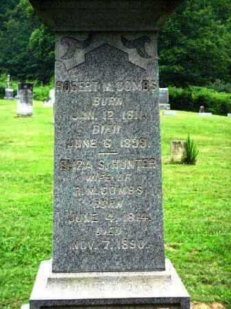 HUNTER COMBS, ELIZA S. - Meigs County, Ohio | ELIZA S. HUNTER COMBS - Ohio Gravestone Photos