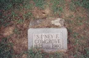 CONGROVE, SIDNEY F. - Meigs County, Ohio | SIDNEY F. CONGROVE - Ohio Gravestone Photos