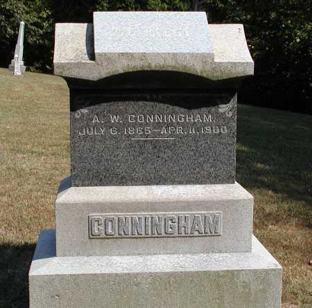 CONNINGHAM, A.W. - Meigs County, Ohio | A.W. CONNINGHAM - Ohio Gravestone Photos
