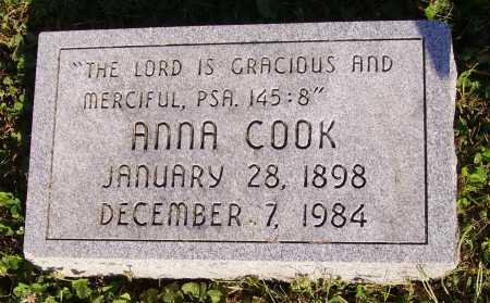 COOK, ANNA - Meigs County, Ohio | ANNA COOK - Ohio Gravestone Photos