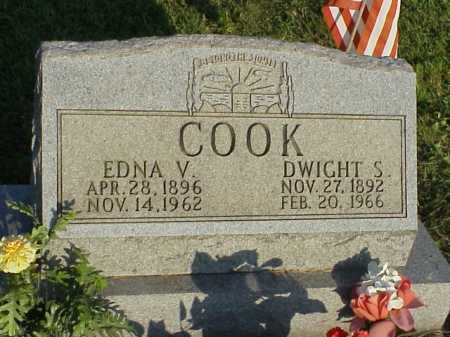 DEAN COOK, EDNA V. - Meigs County, Ohio | EDNA V. DEAN COOK - Ohio Gravestone Photos