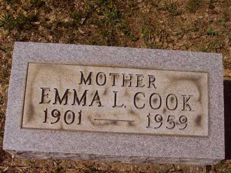 COOK, EMMA L. - Meigs County, Ohio | EMMA L. COOK - Ohio Gravestone Photos