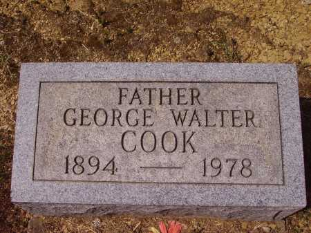 COOK, GEORGE WALTER - Meigs County, Ohio | GEORGE WALTER COOK - Ohio Gravestone Photos