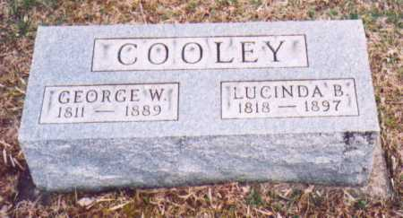 COOLEY, LUCINDA B. - Meigs County, Ohio | LUCINDA B. COOLEY - Ohio Gravestone Photos