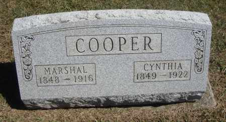 COOPER, CYNTHIA - Meigs County, Ohio | CYNTHIA COOPER - Ohio Gravestone Photos