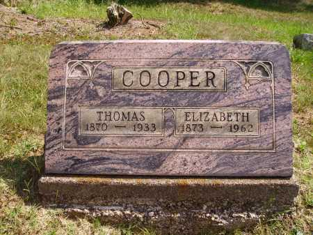 COOPER, THOMAS - Meigs County, Ohio | THOMAS COOPER - Ohio Gravestone Photos