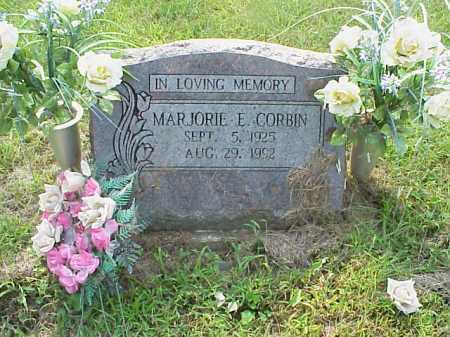 CORBIN, MARJORIE E. - Meigs County, Ohio | MARJORIE E. CORBIN - Ohio Gravestone Photos
