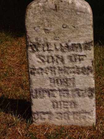 CORN, WILLIAM E. - Meigs County, Ohio | WILLIAM E. CORN - Ohio Gravestone Photos
