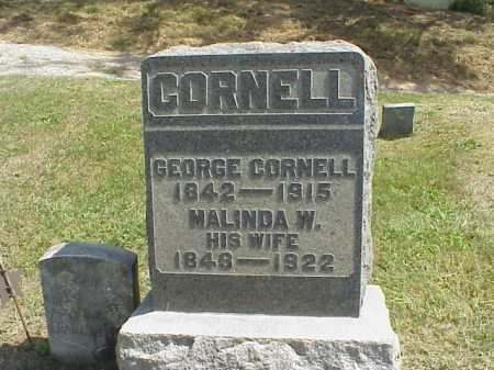 WOODRUFF CORNELL, MALINDA W. - Meigs County, Ohio | MALINDA W. WOODRUFF CORNELL - Ohio Gravestone Photos