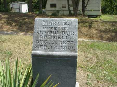 CORNELL, MARY E. - Meigs County, Ohio | MARY E. CORNELL - Ohio Gravestone Photos