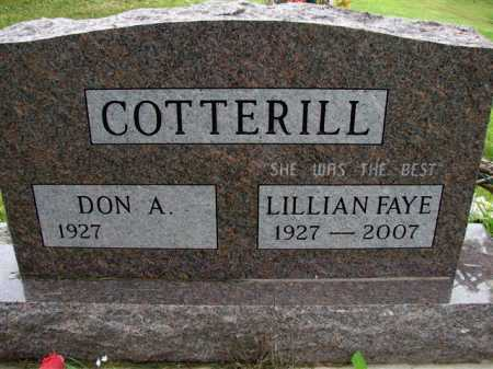 COTTERILL, LILLIAN FAYE - Meigs County, Ohio | LILLIAN FAYE COTTERILL - Ohio Gravestone Photos