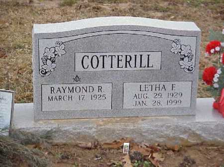 WHITTINGTON COTTERILL, LETHA F. - Meigs County, Ohio | LETHA F. WHITTINGTON COTTERILL - Ohio Gravestone Photos