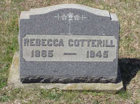 WOODRUFF COTTERILL, REBECCA - Meigs County, Ohio | REBECCA WOODRUFF COTTERILL - Ohio Gravestone Photos