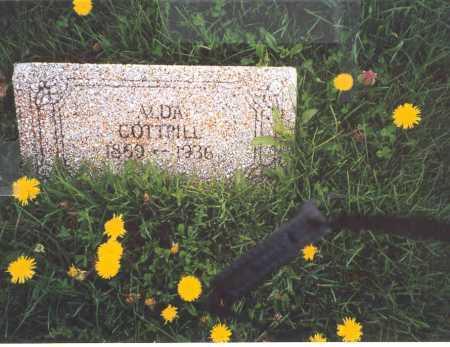 SHENEFIELD COTTRILL, ALDA - Meigs County, Ohio | ALDA SHENEFIELD COTTRILL - Ohio Gravestone Photos
