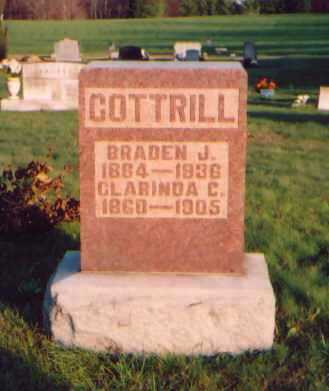 COTTRILL, BRADEN J. - Meigs County, Ohio | BRADEN J. COTTRILL - Ohio Gravestone Photos