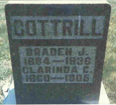 COOK COTTRILL, CLARINDA - Meigs County, Ohio | CLARINDA COOK COTTRILL - Ohio Gravestone Photos