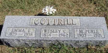 COTTRILL, WESLEY CASTOR - Meigs County, Ohio | WESLEY CASTOR COTTRILL - Ohio Gravestone Photos
