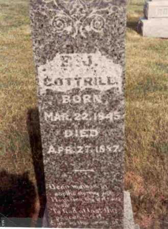 COTTRILL, ELIZA JANE - Meigs County, Ohio | ELIZA JANE COTTRILL - Ohio Gravestone Photos