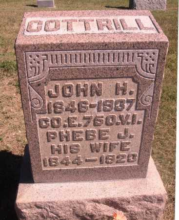 COTTRILL, JOHN HENRY - Meigs County, Ohio | JOHN HENRY COTTRILL - Ohio Gravestone Photos