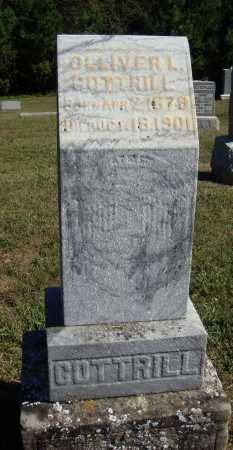 COTTRILL, OLLIVER L. - OVERALL VIEW - Meigs County, Ohio | OLLIVER L. - OVERALL VIEW COTTRILL - Ohio Gravestone Photos