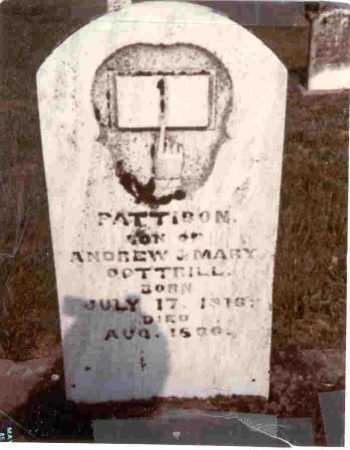 COTTRILL, PATTISON - Meigs County, Ohio   PATTISON COTTRILL - Ohio Gravestone Photos
