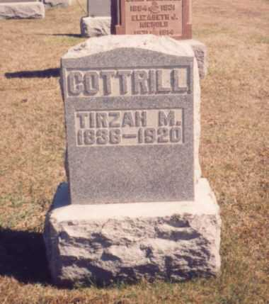 COTTRILL, TIRZAH M. - Meigs County, Ohio | TIRZAH M. COTTRILL - Ohio Gravestone Photos