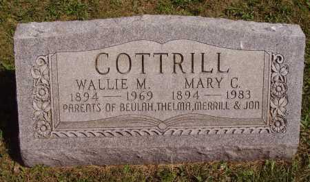 "COTTRILL, WALLACE ""WALLIE"" M. - Meigs County, Ohio 