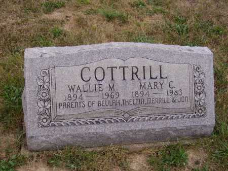 COTTRILL, WALLIE M. - Meigs County, Ohio | WALLIE M. COTTRILL - Ohio Gravestone Photos