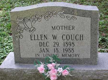 COUCH, ELLEN W. - Meigs County, Ohio | ELLEN W. COUCH - Ohio Gravestone Photos
